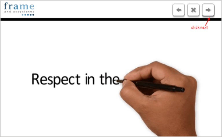 Respect in the Workplace Training